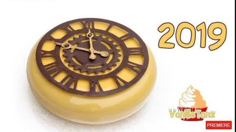 04:22 Торты на Новый год 2019 / Новогодние часы