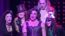 Sweet Transvestite Oliver Thornton and the 2013 UK cast of Rocky Horror