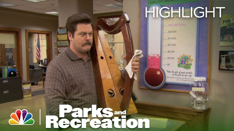 Parks and Recreation - Sweetums: Ron's Whiskey Harp (Episode Highlight)