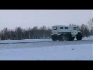 Вездеход ПЕТРОВИЧ - снег