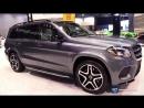 2018 Mercedes Benz GLS Class GLS 550 SUV - Exterior Interior Walkaround - 2018 Chicago Auto Show