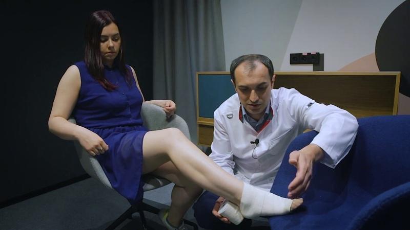 Как правильно бинтовать ногу при варикозном расширении вен нижних конечностей. Рекомендации от моего коллеги Сосудистого хирурга, флеболога, к.м.н. Максима Абасова