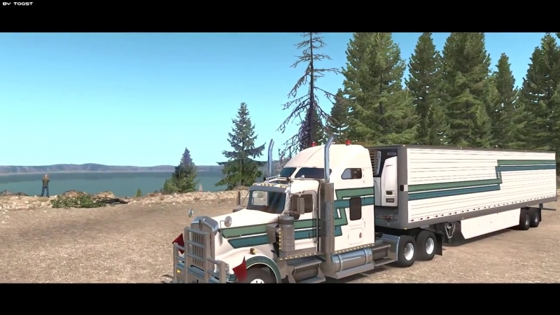 American Truck Simulator - Oregon DLC _ Fan-made Trailer _ Toast 🚚