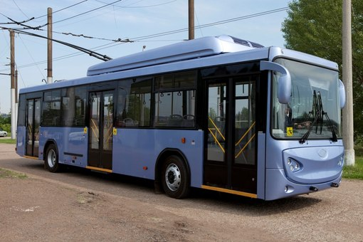 троллейбусы БТЗ 52763.