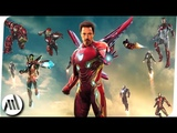 All IRON MAN Suits in the MCU (2008 - 2018) + Marks 8-41 HD