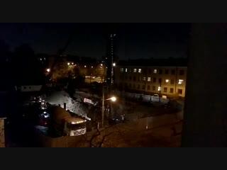 Строители не дают спать жителям Бестужевской