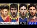 PS1 VS PS2 VS PS3 VS PS4 | Graphics Comparison | FIFA