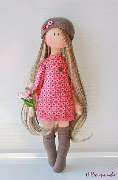 Как сделать куклу элли своими руками