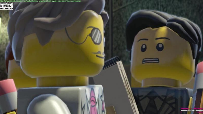 LEGO City Undercover. Квадратный ГТА.4