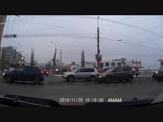 Сипайлово: пересечение Б. Бикбая и М. Жукова 20.11.18