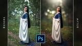 Outdoor Photoshop Tutorial Blur Background