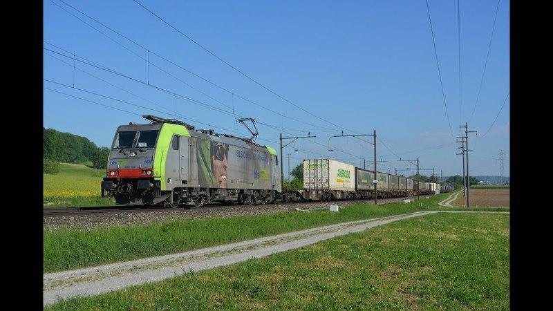 Bahnverkehr auf der Südbahn am 09.05.18 –