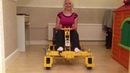 LEGO Giant Go-Kart powered by 16 XL Power Function motors.