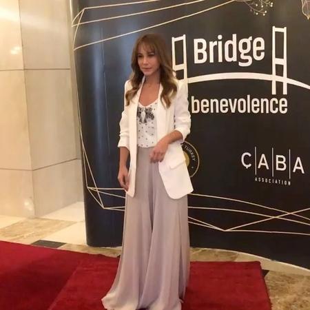 "Burcin Terzioglu Fans on Instagram: ""burcinterzioglu cabadernegi dohaqatar bridgeofbenevolence alemdergisi @cabadernegi @alemdergisi"""