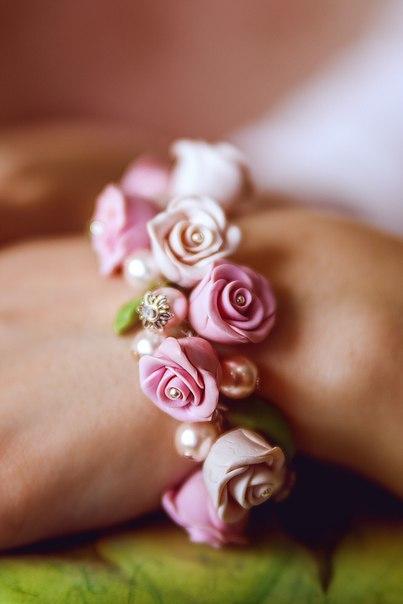 Украшения своими руками! Порадуйте себя цветами, которые никогда не завянут!… (6 фото) - картинка