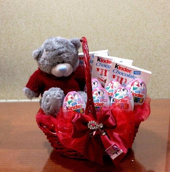 Новогоднее подарки игрушки с конфетами
