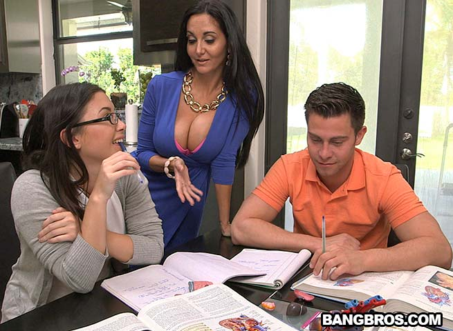 StepDaughter And StepMom TagTeams BF