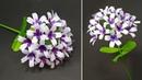 Beautiful Paper Craft Ideas! DIY Handcraft Stick Flower Making Tutorial Jarines Crafty Creation