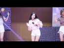 · Fancam · 180818 · OH MY GIRL (Hyojung focus) - Windy Day · DRUMEX Concert ·