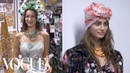 Gigi Hadid, Bella Hadid, and Taylor Hill Backstage at the Anna Sui Spring 2019 Show | Vogue
