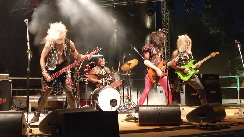 Lipz - Trouble In Paradise - live Luppolo In Rock (CR) 15-07-18