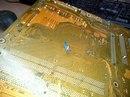 Клиентский компьютер. Неквалифицированный ремонт - крепление ЦП на саморез (дачный вариант наверное)