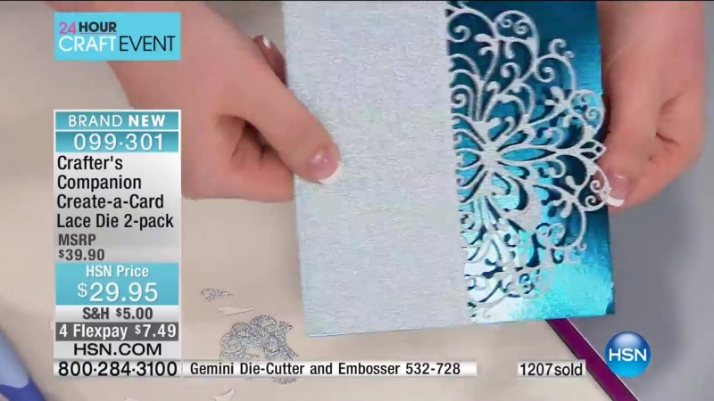 HSN Crafters Companion 03.08.2017 - 09 PM