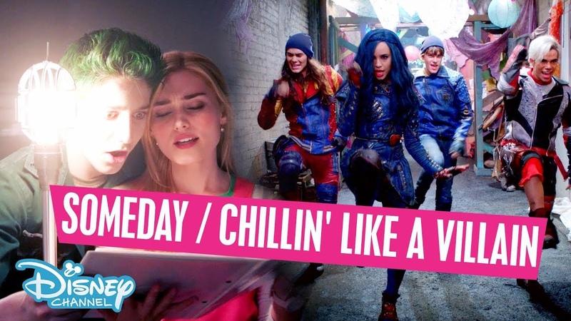 Z-O-M-B-I-E-S vs Descendants 2   Someday / Chillin' Like a Villain Mix - Disney Channel Sverige