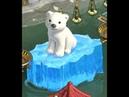 Ice with Klondike bear .Льдинка с медвежонком Клондайк