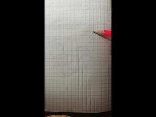 как нарисовать объёмную лестницу