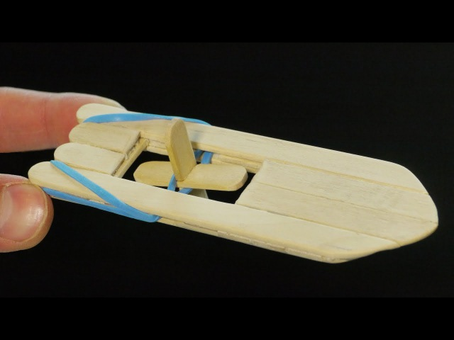 How to Make an Elastic Band Paddle Boat