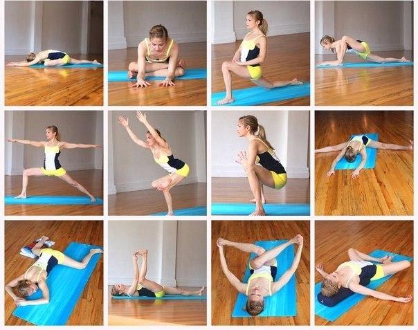 Асан йоги при болях тазобедренных суставах