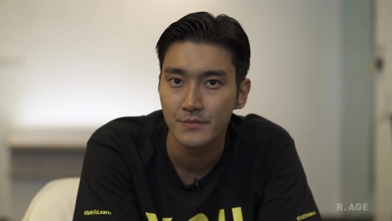 Super Juniors Choi Siwon has a message about bullying