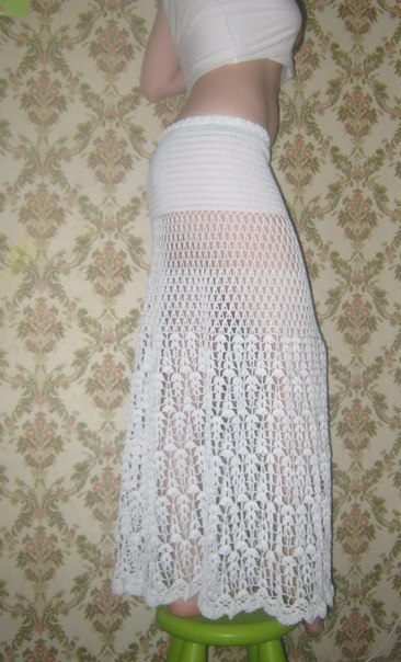 Юбка в пол вязание страна мам.