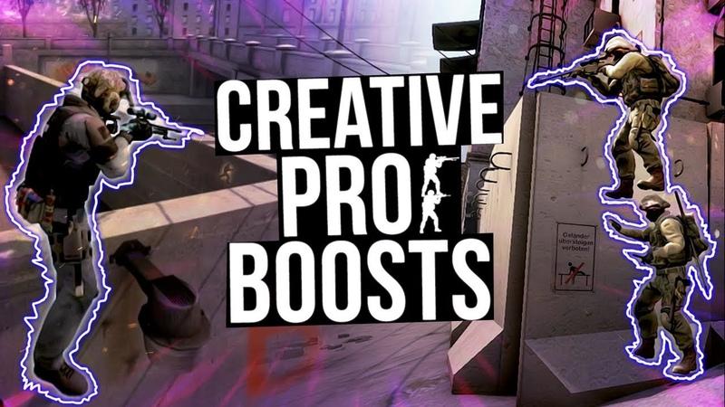CSGO - CREATIVE PRO BOOSTS! ft. coldzera, olofmesiter, snaxMORE!