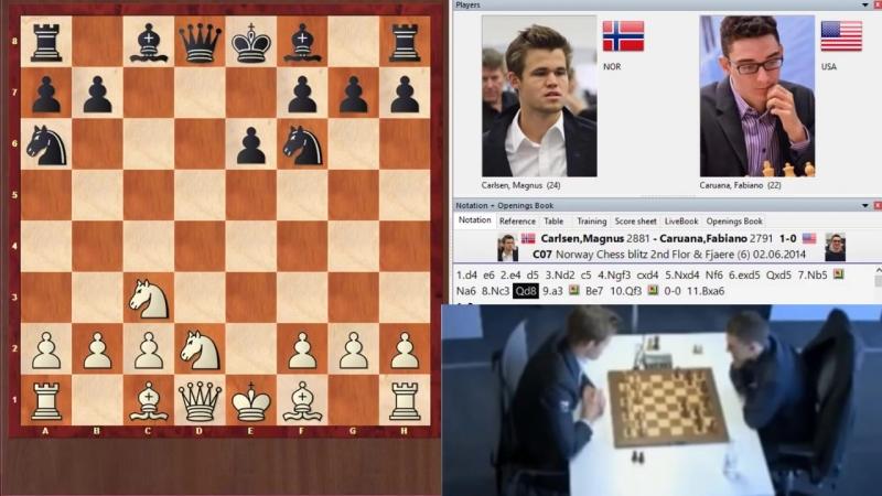 Школа Шахмат ChessMaster Карлсен выиграл в 11 ходов у гроссмейстера 2800 Блиц шахматы
