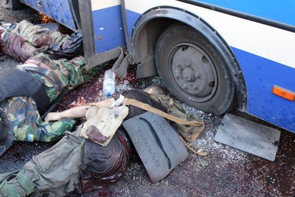 "Боевики из ""Оплота"" обстреляли колонну с ранеными террористами ""Грека"" на Донетчине, - СНБО - Цензор.НЕТ 6767"