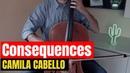 Camila Cabello - Consequences for cello and piano COVER