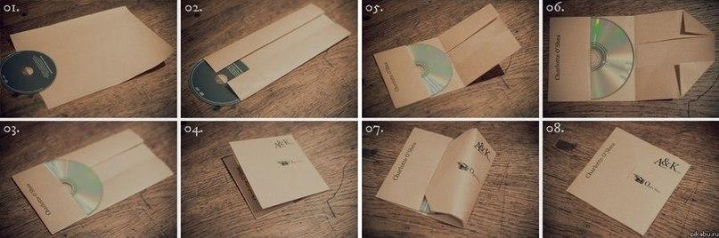 Как сделать упаковку для диска