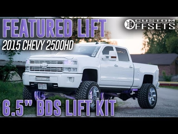 😍😍 Featured Lift 6.5 BDS Lift Kit on CO2 - 2015 Chevy Silverado 2500HD