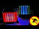 Крутые товары из КИТАЯ для похода и рыбалки/Кемпинговый фонарик убийца комаров UV LED