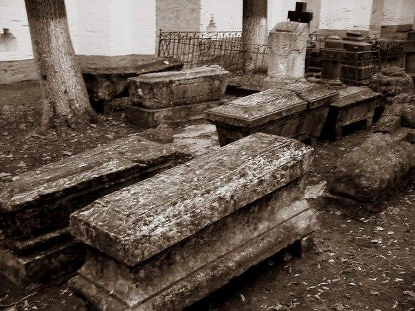 Обнаружено кладбище вампиров