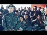 BIGBANG TAEYANG HAVING A MINI CONCERT AT SOLDIER CAMP DMZ IN CHEORWON 180627