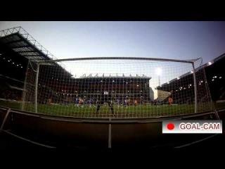GOAL CAM: Bradford City v Peterborough United - Adam Reach free kick goal