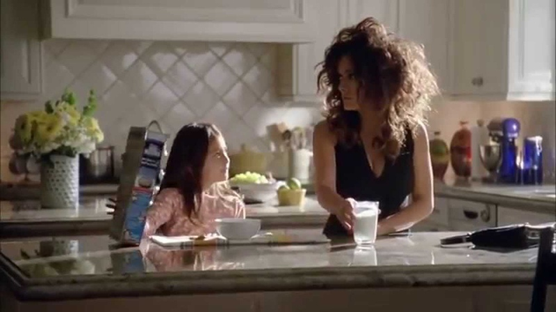 Salma Hayek Funny Commercial got milk creative ad