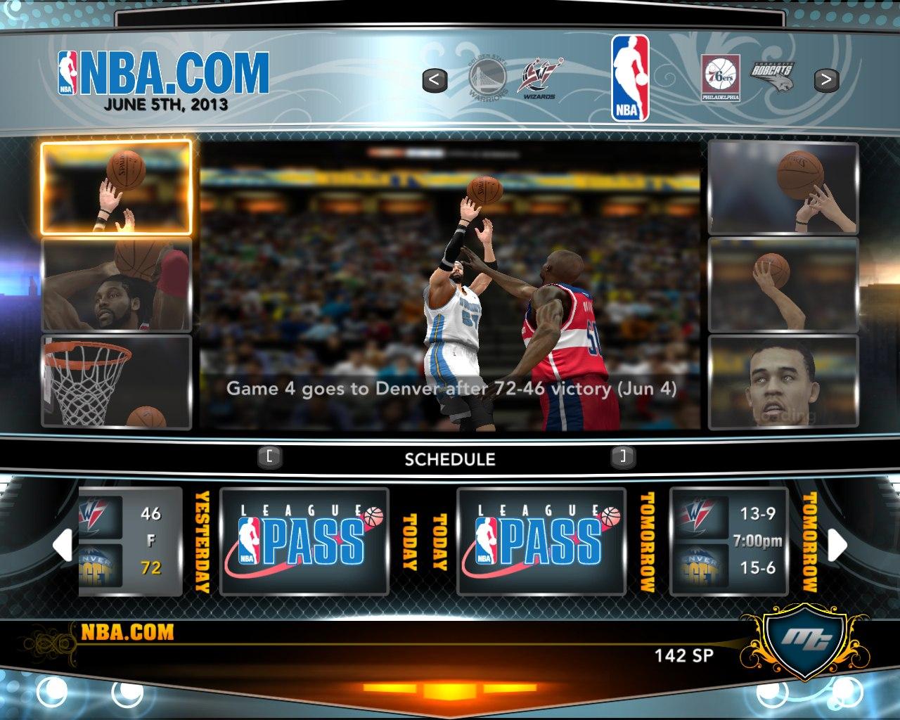 Чемпионы НБА2К13