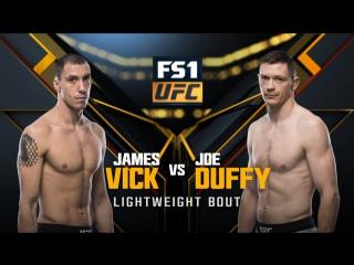 UFC 217 Легкий вес Джеймс Вик — Джозеф Даффи