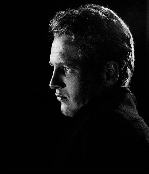 Портрет Пола Ньюмана 1958 года