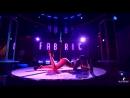 Ученица Канафина Мика | Отчетный концерт студии pole dance BLACK BERRY