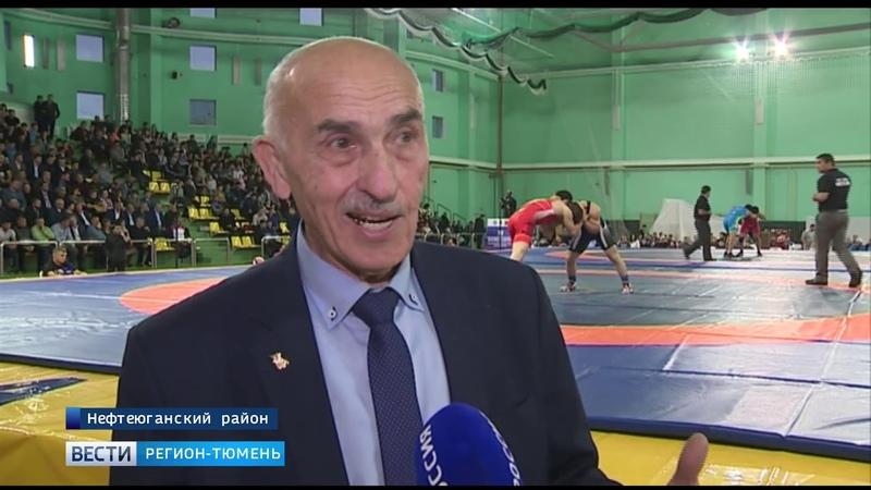 Югорские спортсмены выиграли турнир по вольной борьбе в Нефтеюганске